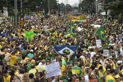 BRASIL AUGE DE LA DERECHA