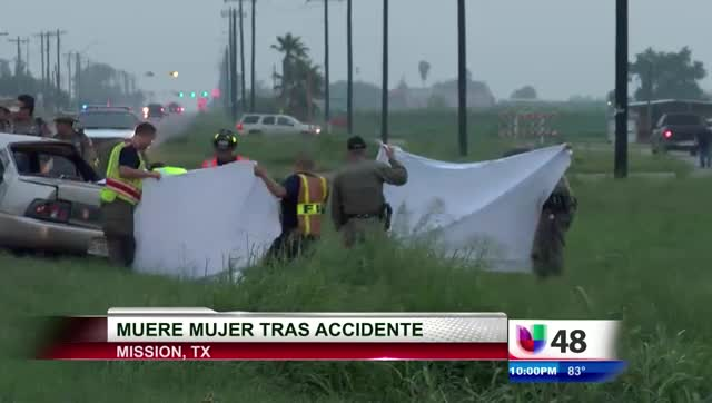 Muere Mujer Tras Accidente Vial