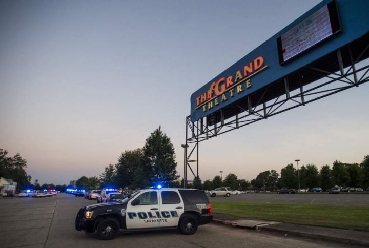 """Policía: Atacante en cine de Louisiana era un """"vagabundo"""""""